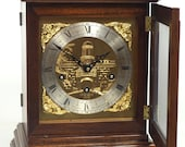 Antique French Westminster Chime Bracket Clock Musical 8 Day Mantel clock