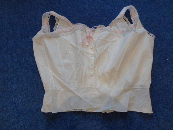 Victorian corset cover or camisole