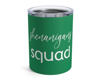 1789 16 Colors 3 Sizes Stainless Steel  Tumblers Let the Shenanigans Begin