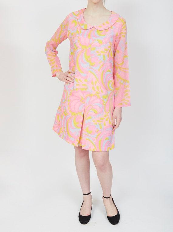 Aldens 60s Cotton Shift Dress