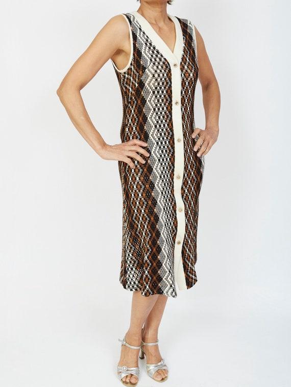 Joelle Knit Long Vest Overlay