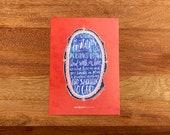 Ephesians 5:1-2 Hand-Lettered Devotional Print for Moms (single, 5x7 print)