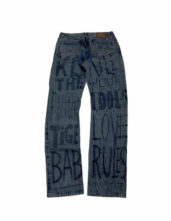 Vintage Walter Van Beirendonck AW/97 Pen jeans Wil