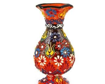 Classic Antique Ceramic Vase 15 Cm