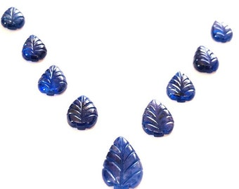 Price Per Lot 5 Crts Natural Multi Sapphire Leaf Gemstone Smooth Multi Sapphire Leaf Stone