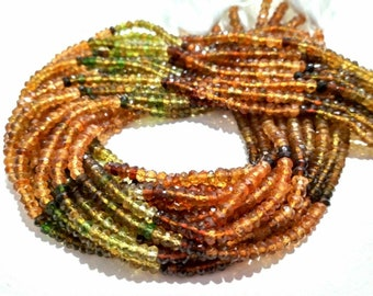 Natural high quality petrol tourmaline flat pear shape gemstone beads 13 inch 1 strand 3X5mm to 3X6mm approx