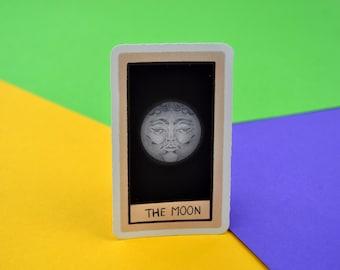 Witch | Tarot | The Moon | Vinyl Sticker | Cute Stationery | Planner stickers | Bullet Journals | Notebook | Scrapbook