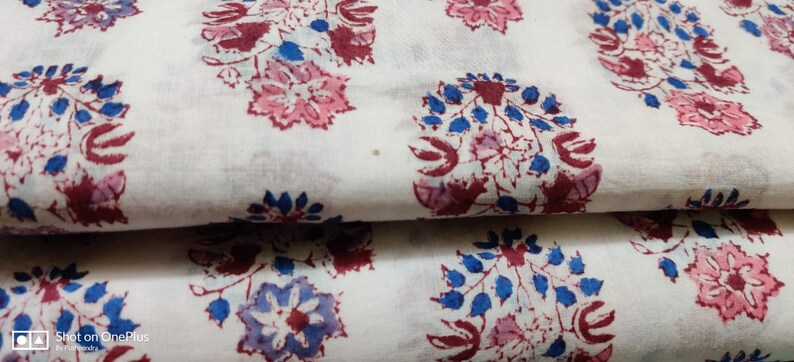 dyed Indian fabric robe fabric by LegacyIN womens  Made for your love Ones floral print cotton fabric  print fabric dress