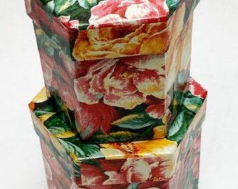 Vintage Foil Leaf Paper Mache Craft Japanese Bell Green Leaf 28