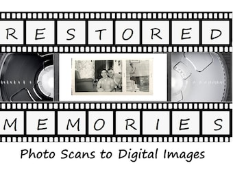 50 Photo Scans (35mm, 110 & 126) Scanned to Digital (Price per 50 Photos - Flash Drive Not Included)