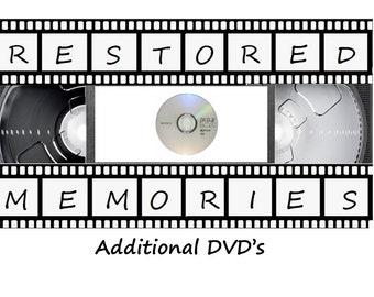 Add-On / Additional DVD's