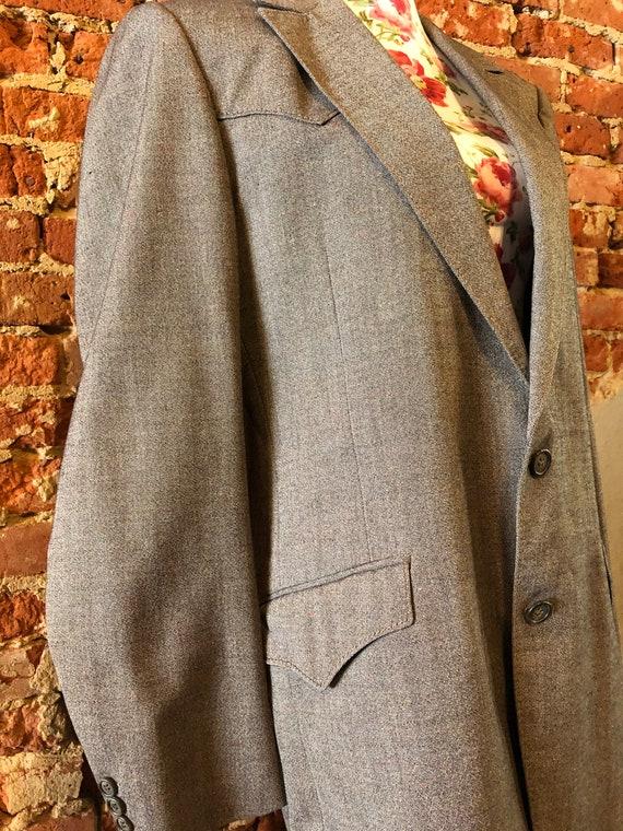 Vintage Curlee Western Cut Blazer - image 3