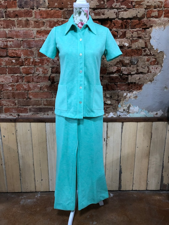 Vintage Pant Suit / Leisure Suit / Loungewear