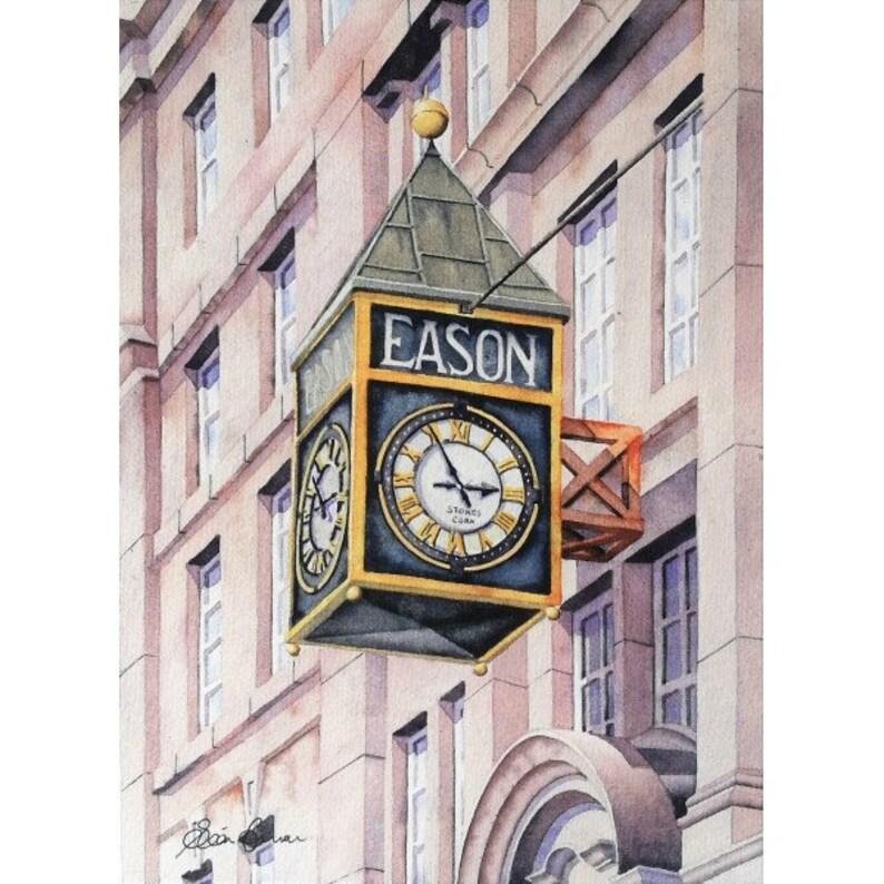 Easons clock where stories begin