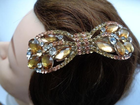 NOS Nemo Jeweled Hair Clip  8555