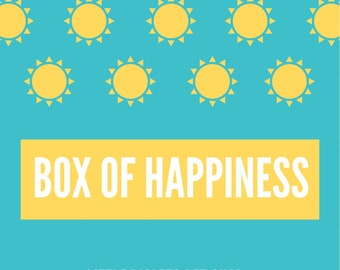 Box of Happiness for Small Animals