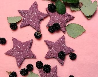 Cornish Blackberry Stars for Rabbits and Guinea Pigs