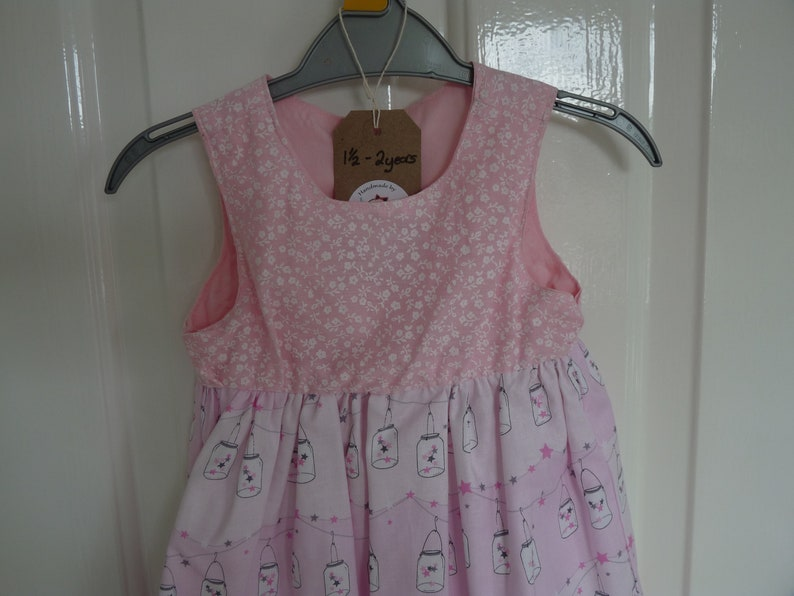 Toddler Dress 100/% cotton age 18 months to 2 years.