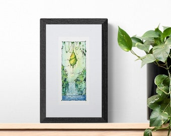 Beehive in the forest - limited edition numbered print