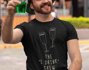 The I Drink Crew Shirt, Funny Alcohol Shirt, Alcohol Gifts, Funny Drinking Shirt, Funny Wine Shirt, Alcohol Unisex Shirt, Alcohol Lover Tees