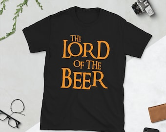 The Lord of The Beer - Short-Sleeve Unisex T-Shirt