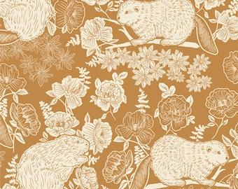 PRE-ORDER | Beaver & Bloom Bramble | Wild Forgotten | Bonnie Christine | Art Gallery Fabric |  | Fabric by the yard