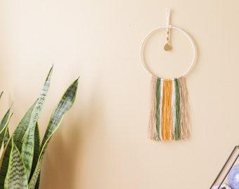 Mini Customizable Yarn Wall Hanging