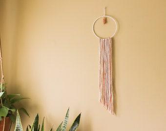 Wall Hang with Decorative Crystal