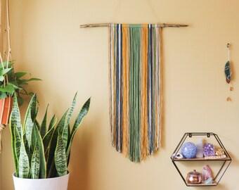 Customizable Driftwood & Yarn Wall Hanging