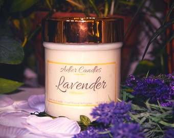 Soy Candle   Soy Wax Candle   Candle in Jar   10oz