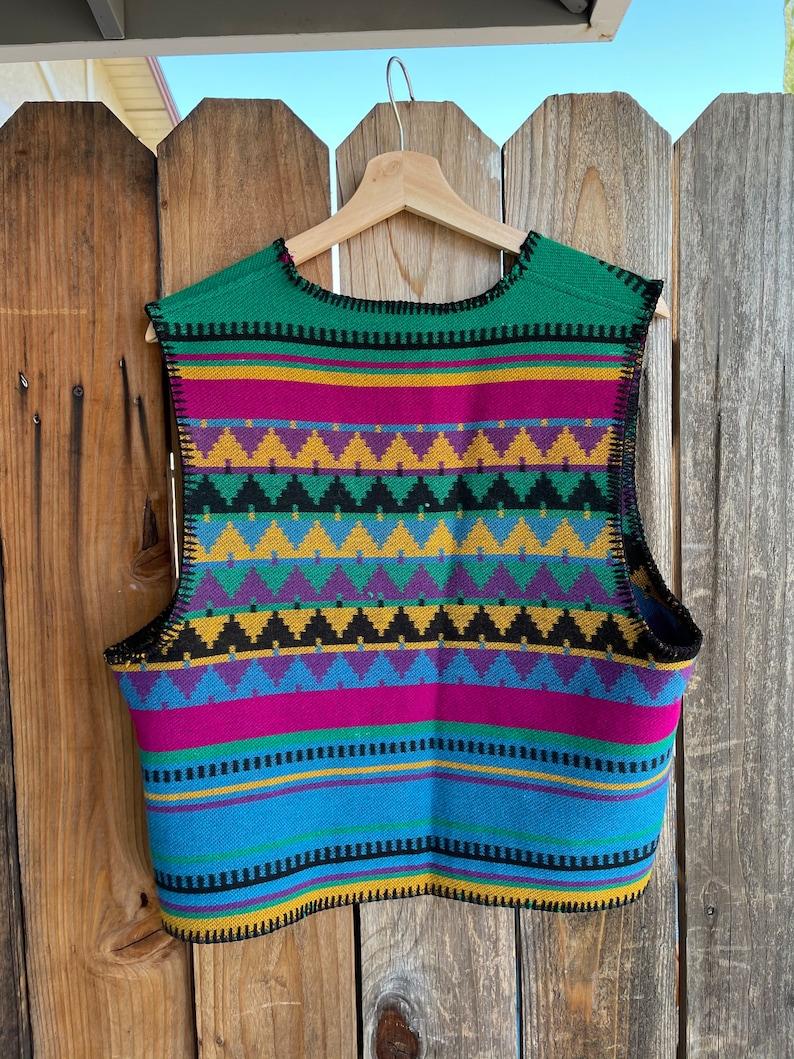 Vintage Eagle River Traders Knit Vest