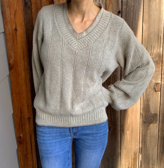 Vintage 1990s Cambridge Classics Knit Pullover Sw… - image 7