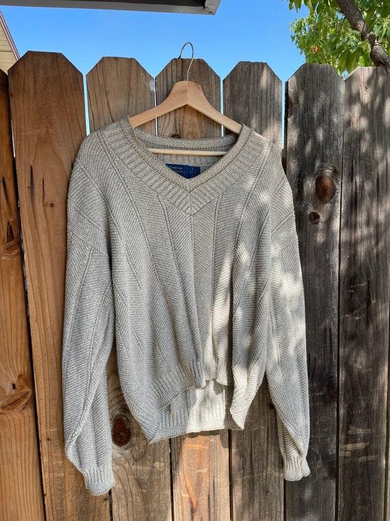 Vintage 1990s Cambridge Classics Knit Pullover Sw… - image 5