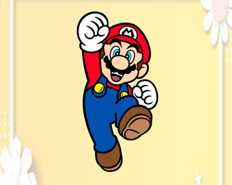 Super Mario Svg Etsy
