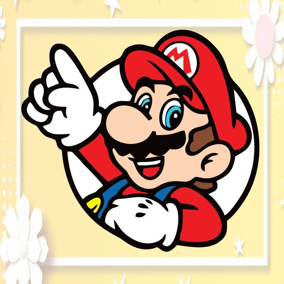 png Mario  svg Clipart Cricut Super Mario SVG DXF,PNG dxf