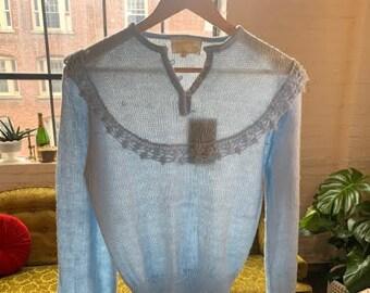 70s Sweetie Lil 'Sheridan' Knit Sweater NWT