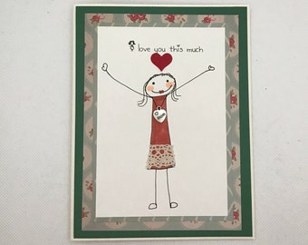 Happy Birthday, Happy birthday Mom, Mom's Card, Gift for Mom, Greeting cards, Love you Mom Card, Mothers , Card for Mom, Mothers Day card