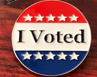 I Voted - Election Soft Enamel Pin