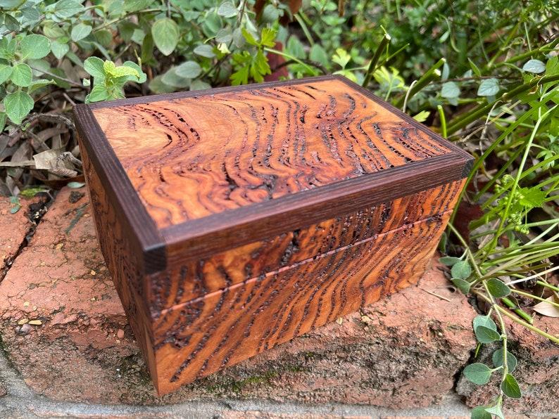 Trinket Box Eucalypt Burl