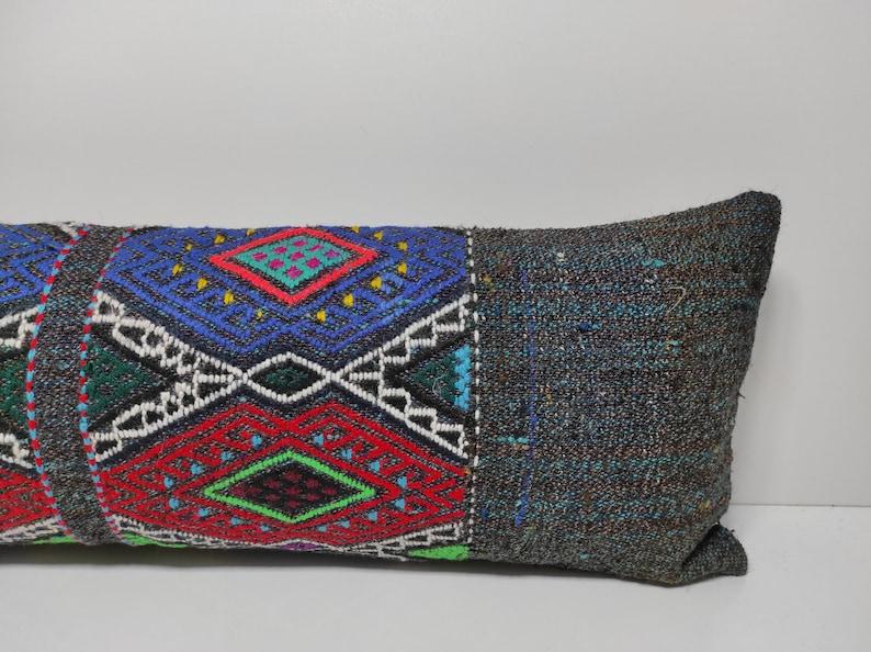 12x36 Kilim Pillow Cover,Handmade pillow,Wool Kilim Pillow,Boho Kilim Pillow,Livingroom Pillow,Decor Pillow,Pillow Covers,US,UK,CANADA,UM052