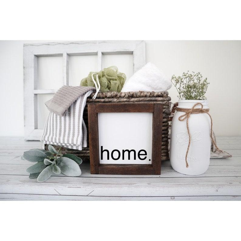 Farmhouse Sign Home