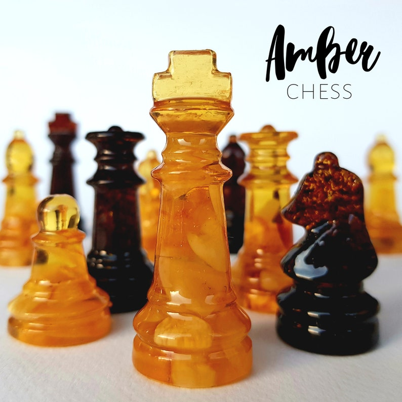 Chess pieces Fathers day gift ideas Handmade chess set and Chess Set Only