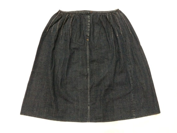 45RPM Japan Denim Jeans Skirt Union Made