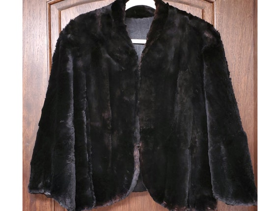 1940s Fur Evening Cape
