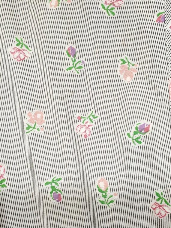 1940s Dress S Small Neat n' Tidy Apron Dress Swir… - image 9