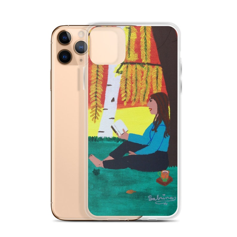 Autumn Relaxation iPhone Case