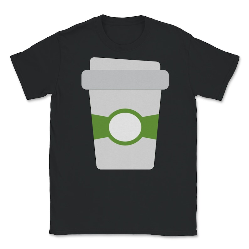 Eating Unisex Short Sleeve Shirt Fruit Coffee 4 Classic Crewneck T-Shirt Food Edible Vegetables Cooking Grocery Kitchen