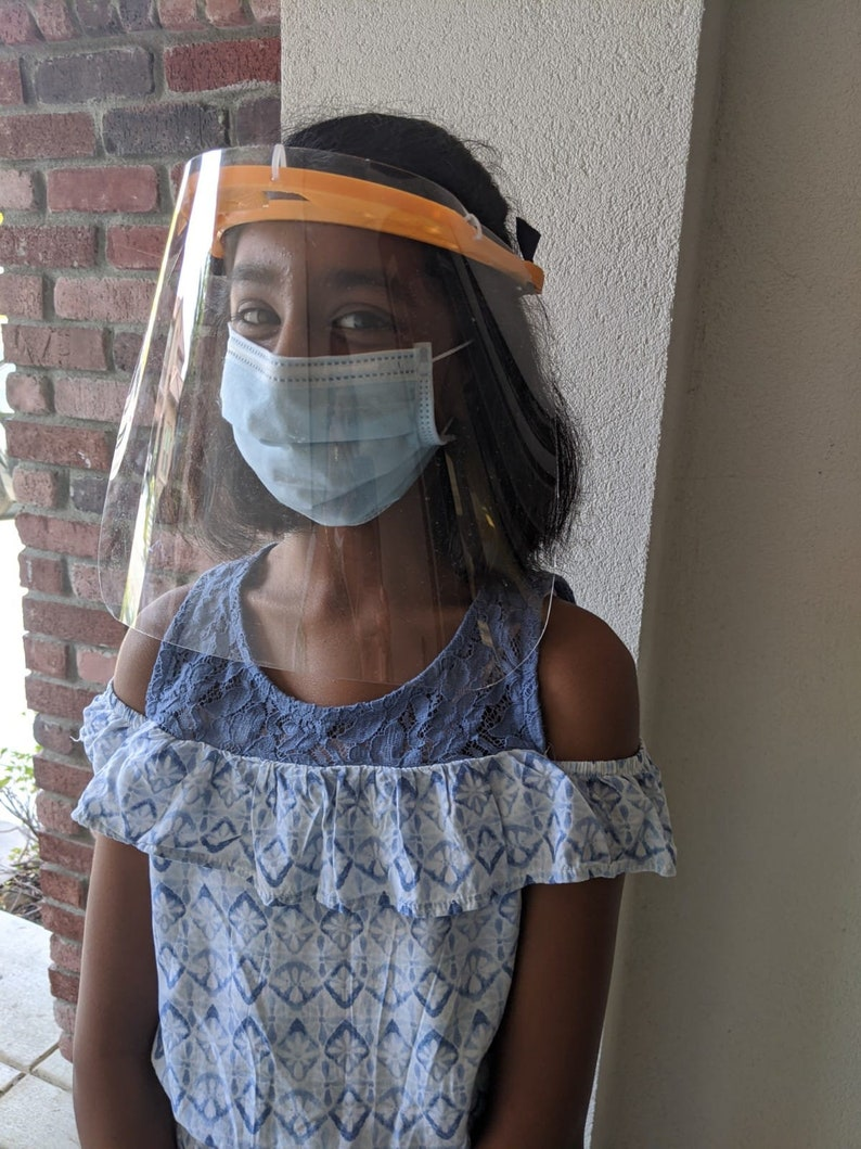 Sturdy Reusable Antifog Comfortable Face shields Made in image 0