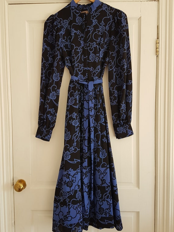 Vintage 1970s 'Origin' Wool Dress