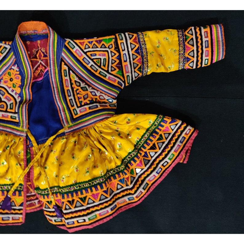 Rabari-work kids dress from Kutch Gujarat